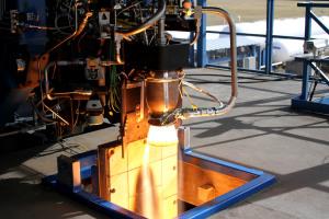 Image of Super Draco engine courtesy of Space X.