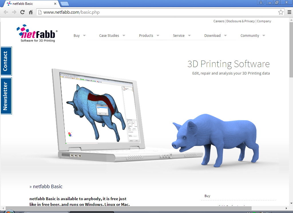 Netfabb Basic This Software Provides Mesh Editing And Has Abilities For Repairing And Analyzing Your Design You Can Use This Program On Mac Linux