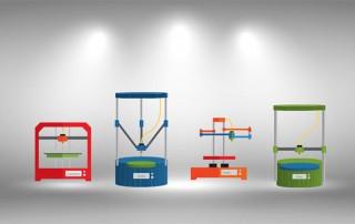 3D Printer Styles